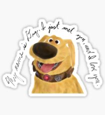 My Name is Dug Sticker