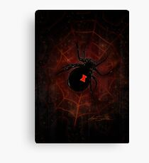 Black Widow (Signature Design) Canvas Print