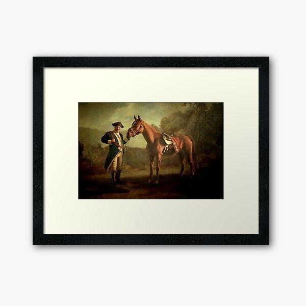 General Tony Soprano and His Horse Framed Art Print