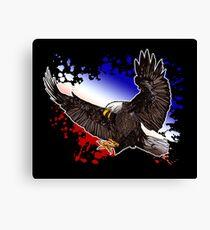 Bald Eagle - Red, White & Blue (2) Canvas Print