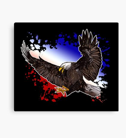 Bald Eagle - Red, White & Blue (2) Canvas Print
