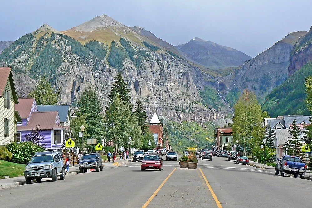 Telluride, Colorado by Graeme  Hyde