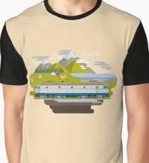 Railway Locomotive #40 Graphic T-Shirt
