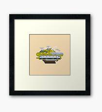 Railway Locomotive #40 Framed Print