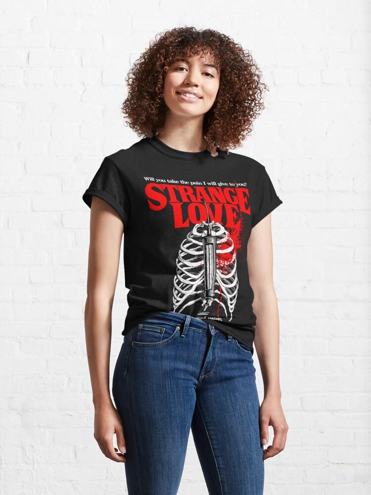 Alternate view of Strange Love Classic T-Shirt