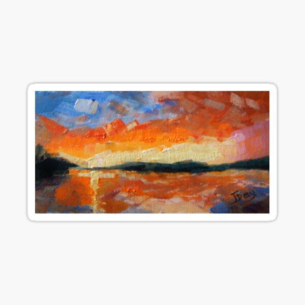 'Sunset Colours' Sticker