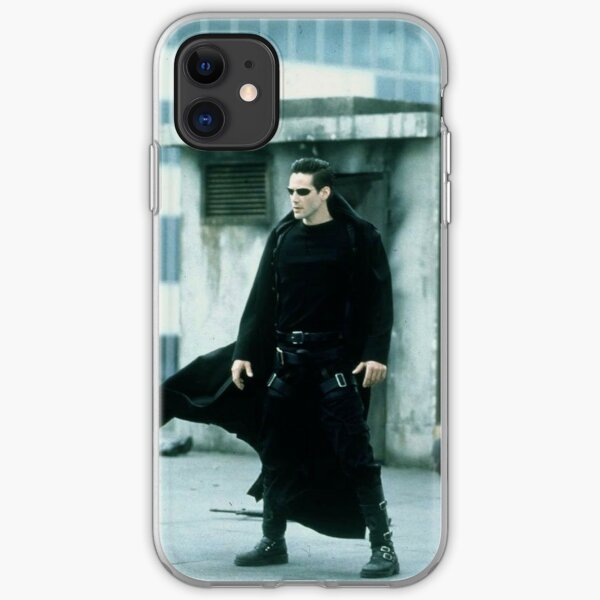 Neo Keanu Reeves The Matrix iPhone Soft Case