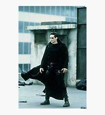 Neo Keanu Reeves The Matrix Photographic Print