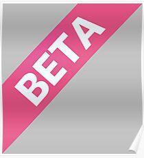 Beta Ribbon Poster