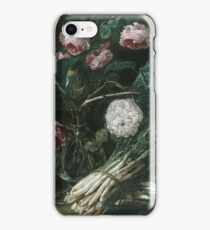 Jan Fyt - Vase Of Flowers And Two Bunches Of Asparagus iPhone Case/Skin