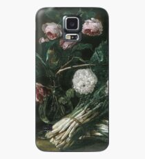 Jan Fyt - Vase Of Flowers And Two Bunches Of Asparagus Case/Skin for Samsung Galaxy
