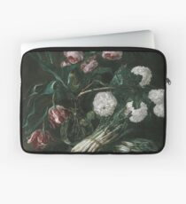 Jan Fyt - Vase Of Flowers And Two Bunches Of Asparagus Laptop Sleeve