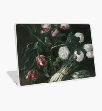 Jan Fyt - Vase Of Flowers And Two Bunches Of Asparagus Laptop Skin