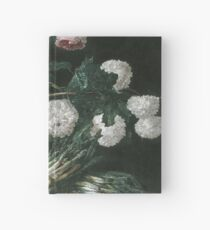 Jan Fyt - Vase Of Flowers And Two Bunches Of Asparagus Hardcover Journal