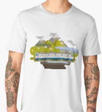 Railway Locomotive #40 Men's Premium T-Shirt