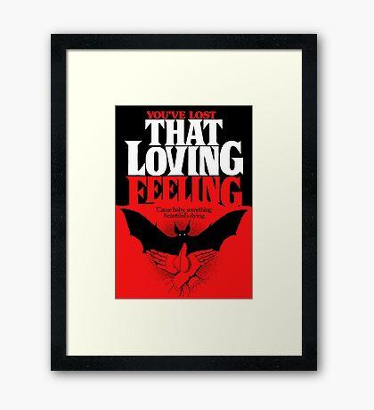 Loving Feeling Framed Print