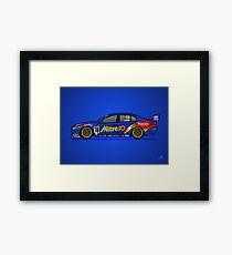 FGX - Retro Legends - 2000 Mitre 10 Ford Racing Framed Print