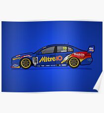 FGX - Retro Legends - 2000 Mitre 10 Ford Racing Poster