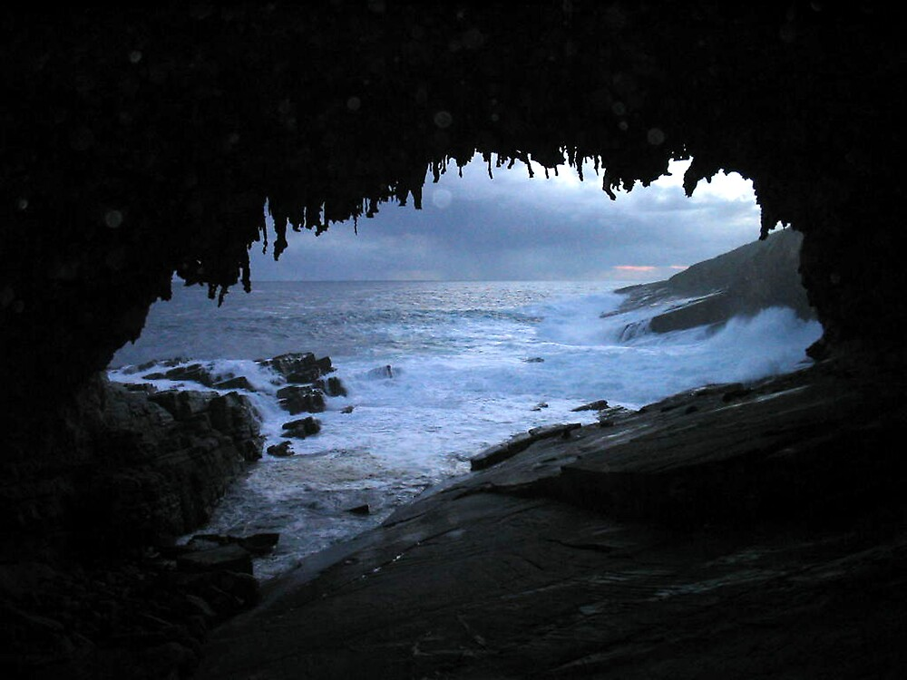 Admirals Arch, Kangaroo Island, SA by Patricia  Knowles