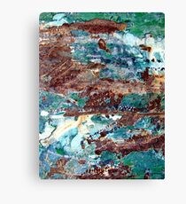 Rockpools by the Sea Canvas Print