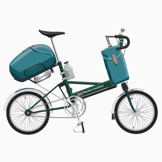 TShirtGifter presents: Moulton Marathon bicycle