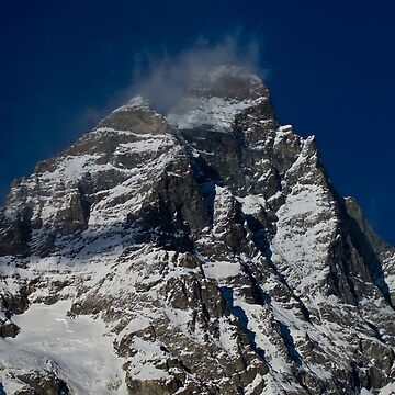 Snow clouds on The Matterhorn by pluffy
