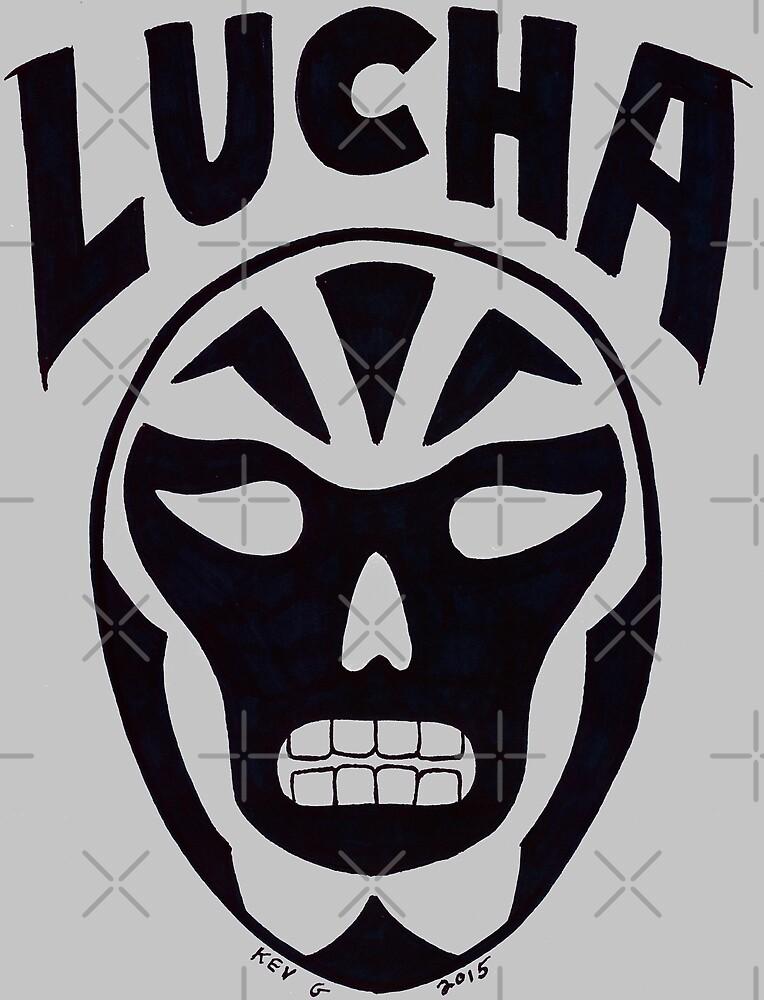Lucha Wrestling - Art By Kev G by ArtByKevG
