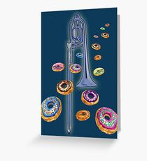 Trombone Donut Galaxies and Beyond Greeting Card