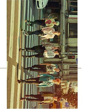 BTS - Full Group Photo Device by sunicorn