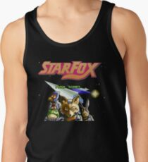 Star Fox (SNES) Title Screen Tank Top