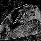 Gorilla... a very human look1 (c)(t) by Olao-Olavia par Okaio Créations fz 1000  mars 2016 by . Okaïo