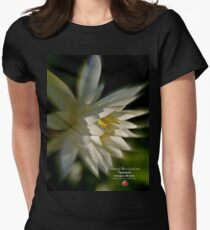 love lotus Womens Fitted T-Shirt