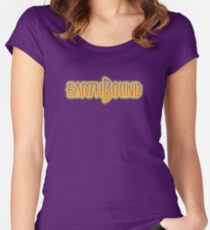 Earthbound (Snes) Title Screen Women's Fitted Scoop T-Shirt