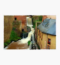 old town saarburg Photographic Print