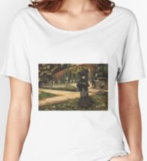 James Tissot - The Letter Women's Relaxed Fit T-Shirt