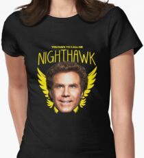 Step Brothers Nighthawk Womens Fitted T-Shirt