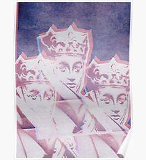 PEOPLE #triple #queen Poster