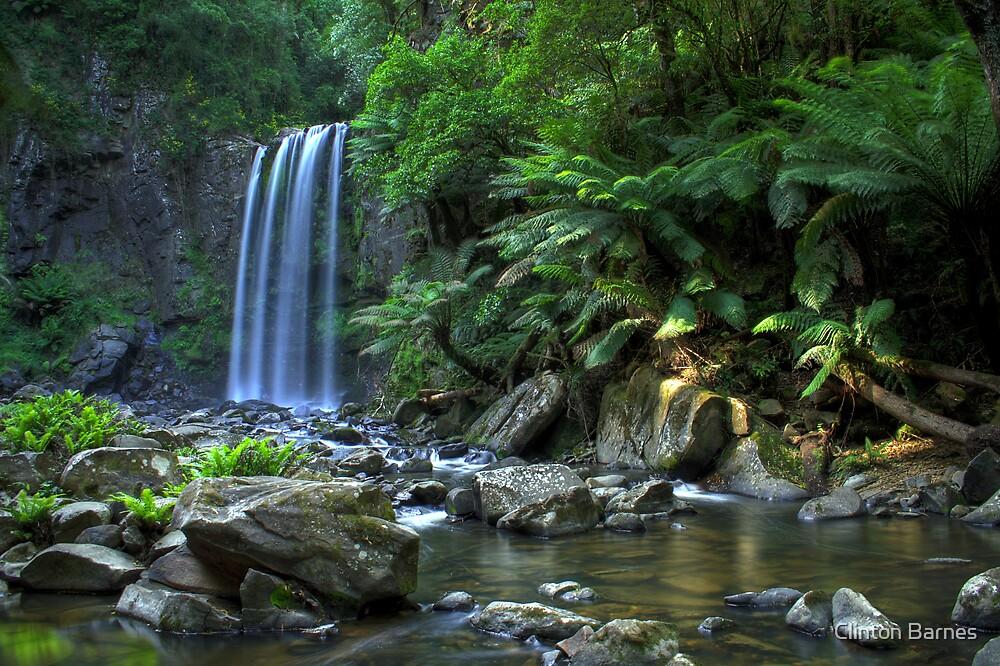 Hopetoun Falls by Clinton Barnes