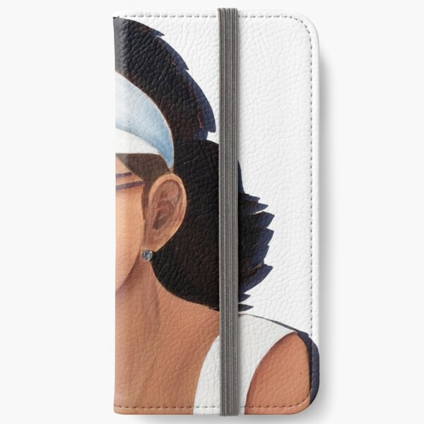 Timber Cut Out Girl iPhone Wallet