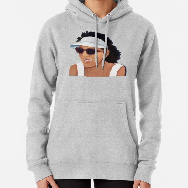Timber Cut Out Girl Pullover Hoodie