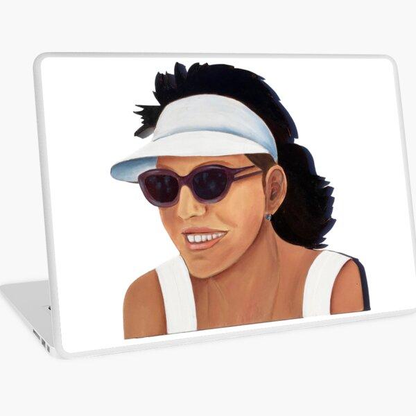 Timber Cut Out Girl Laptop Skin