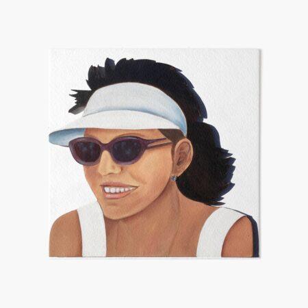 Timber Cut Out Girl Art Board Print