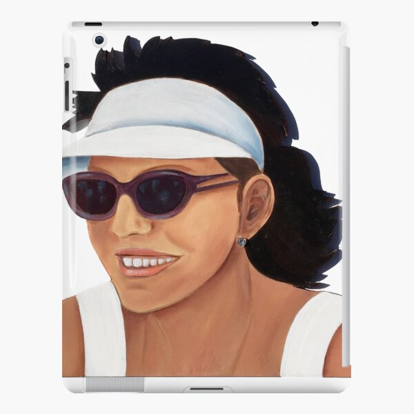 Timber Cut Out Girl iPad Snap Case