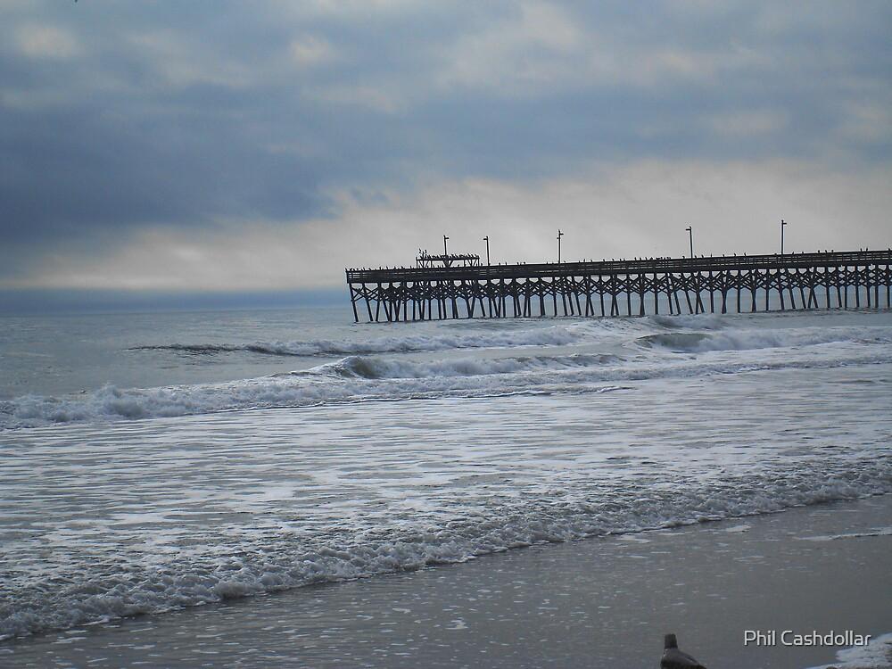 Surfside Pier SC by Phil Cashdollar