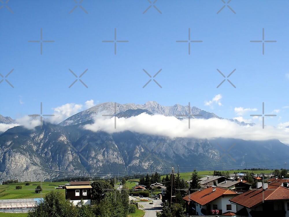 Beautiful mountain landscape by queensoft