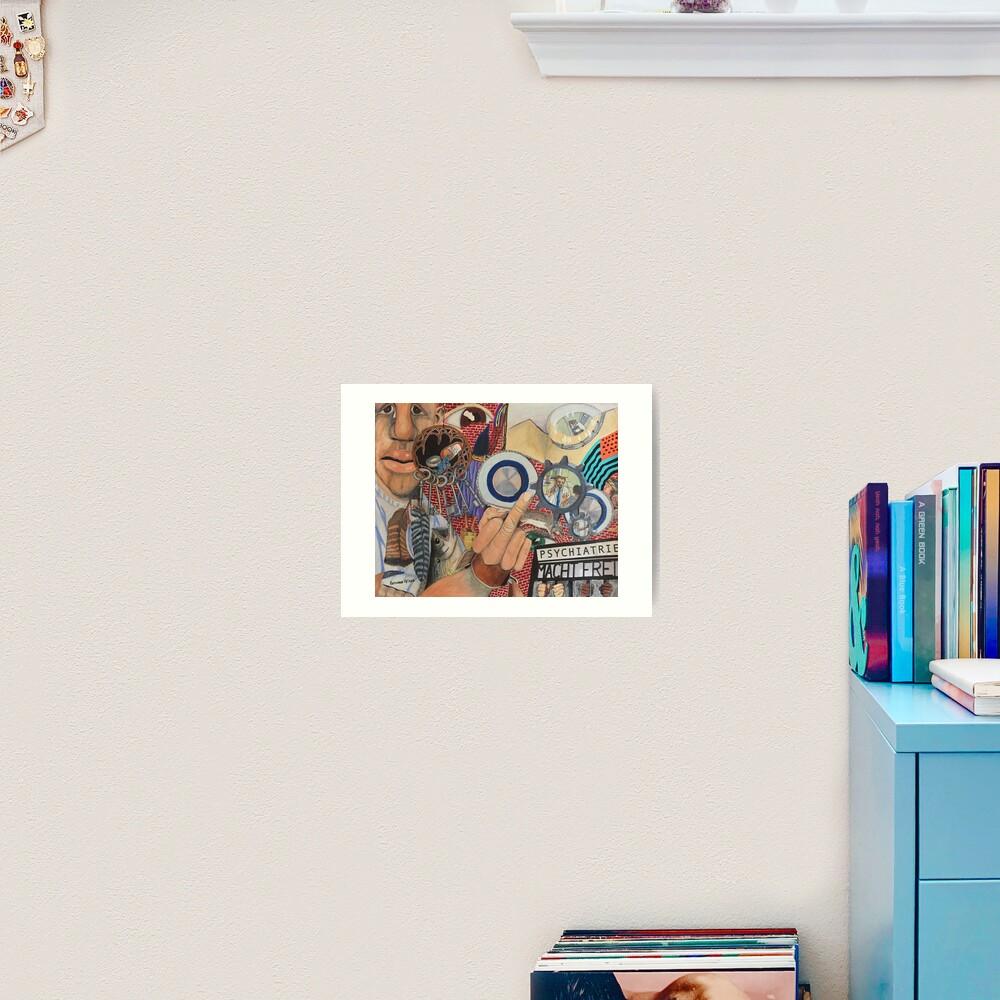 Fork You, Psychiatry! Art Print