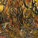 'australian bush in four colours'..90cmx70cm by glennbrady