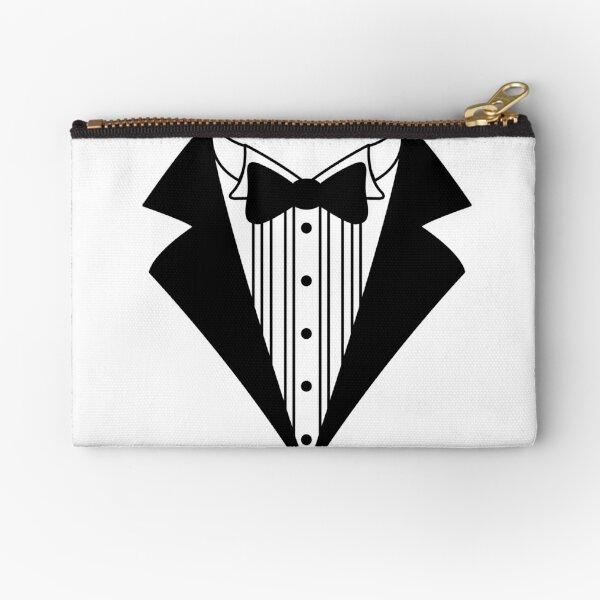 Tuxedo Zipper Pouch