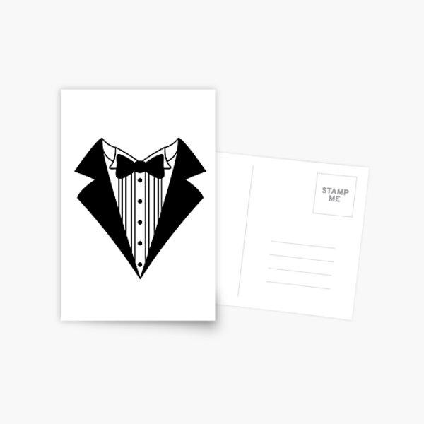 Tuxedo Postcard