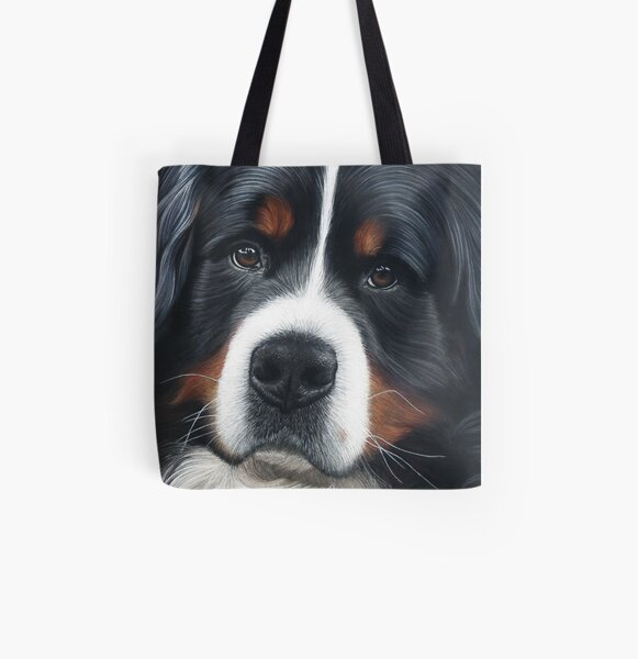 Bernese Mountain Dog - Jesse All Over Print Tote Bag